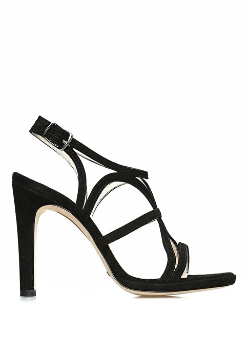 Beymen Collection İnce Topuklu Sandalet Siyah